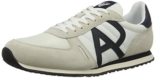 Armani Jeans 9350277p420, Sneakers basses homme Weiß (bianco)