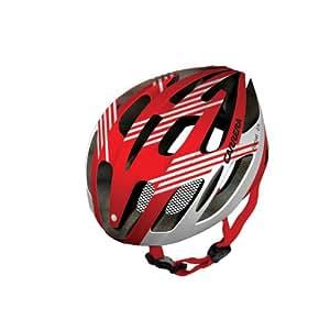 Carrera E0445 Rocket Road Helmet - Shiny Red/White Shiny, Small/Medium 54-57 cm
