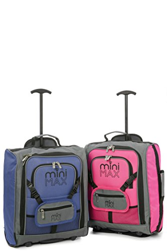 minimax-childrens-kids-luggage-carry-on-trolley-suitcase-with-backpack-and-pouch-for-your-favourite-