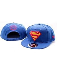 Superman - Classic Logo - Cap   Mütze   Blau   DC Comics