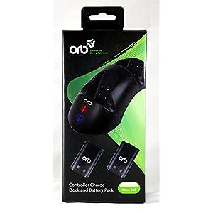 Xbox 360 – Charging Dock and Battery Packs, schwarz [UK Import]