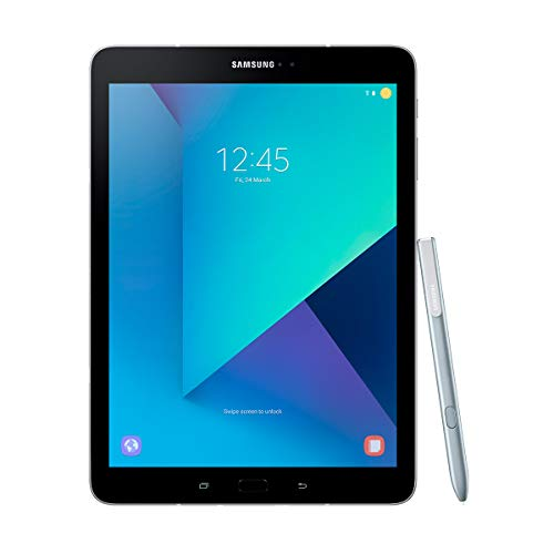 Samsung Galaxy Tab S3 SM-T820N Tablet Qualcomm Snapdragon 32 GB Silber - Tablets (24,6 cm (9.7 Zoll), 2048 x 1536 Pixel, 32 GB, 4 GB, Android 7.0, Silber)