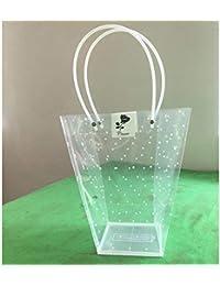 LYCOS3 - Bolsa de Transporte para macetas de Flores (plástico Transparente), Color Show