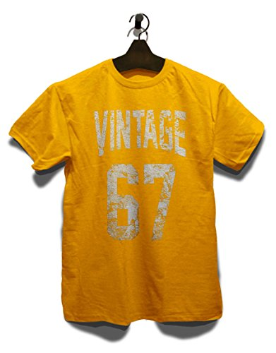 Vintage 1967 T-Shirt Gelb