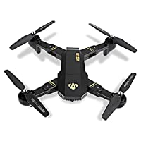 VISUO RC Drone Foldable Flight Path FPV VR Wifi RC Quadcopter 2.4GHz 6-Axis Gyro Remote Control Drone with 720P HD 2MP Camera Drone from LightInTheBox
