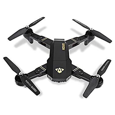 VISUO RC Drone Foldable Flight Path FPV VR Wifi RC Quadcopter 2.4GHz 6-Axis Gyro Remote Control Drone with 720P HD 2MP Camera Drone