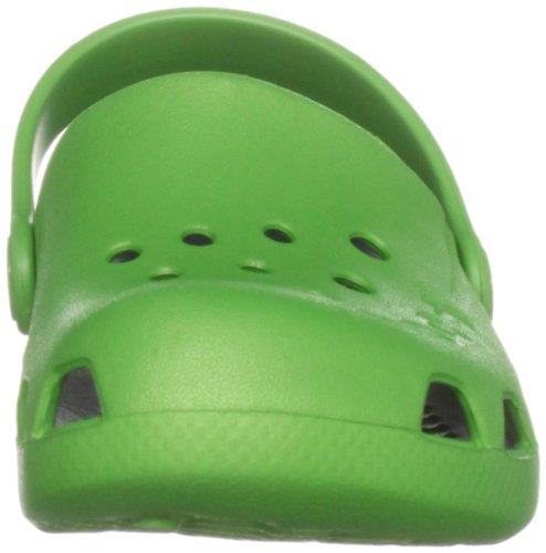 Crocs Electro Kids, Sabots Garçon Vert (Lime/Navy)