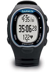 Garmin Forerunner 70 - Reloj para fitness con pulsómetro premium, Negro y Azul