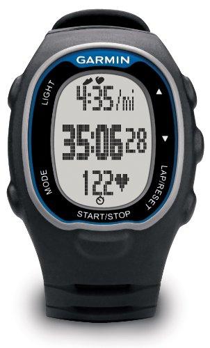 Garmin-Forerunner-70-Reloj-para-fitness-con-pulsmetro-premium-Negro-y-Azul