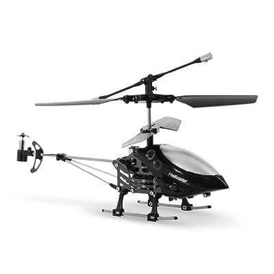 Takira i-helicóptero radio control iOS, android (3 frecuencias transmisión, 3 pilotos, USB, transmisión infrarojos, sensor gyro, a partir de 14 años) de Takira