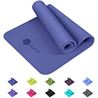 Aisoco Estera de Yoga TPE Premium, Antideslizante, respetuosa con el Medio Ambiente, respetuosa