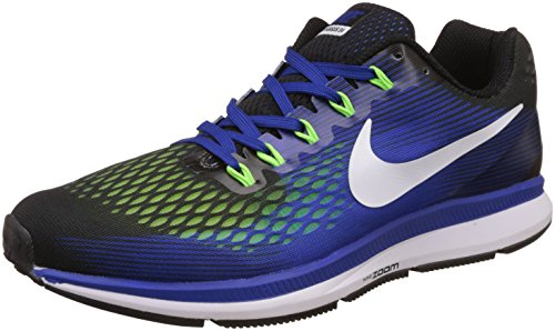 5ac2cac502c6 Nike men s air zoom pegasus 34 blue running shoes - 9 uk india (44 ...
