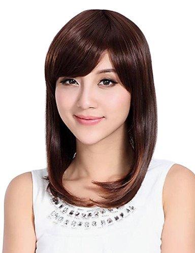 Fashion Extra Long Cheveux raides perruque synthétique de haute qualité