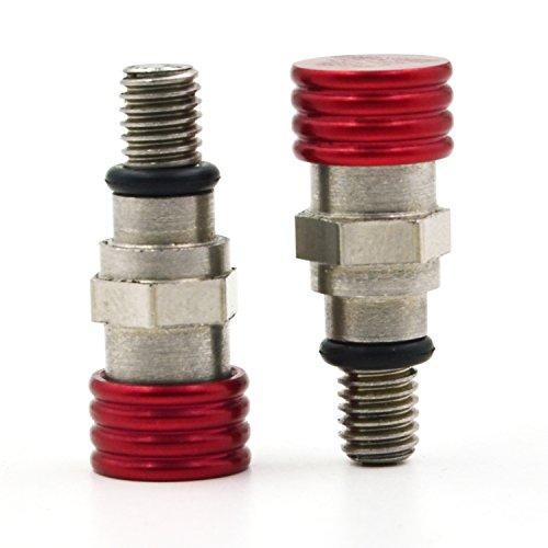 Motorrad-Gabel-Luft-Entlüfter-Druckentlastung M5 0.8MM für Honda CR125 CR250 CRF250R CRF450R (Honda Cr125)