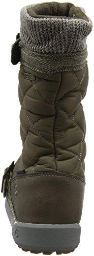 Hi-Tec Damen Freemont 200 I Waterproof Trekking-& Wanderhalbschuhe Braun (Tobacco/Olive 042)
