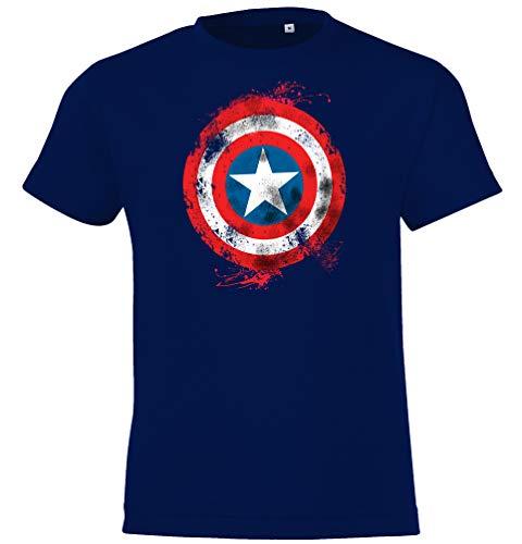 Kinder T-Shirt Modell Vintage Captain America 2