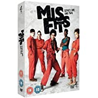 Misfits: E4 Series - Complete Seasons 1 & 2 Including DVD Exclusive Special Features + Interviews