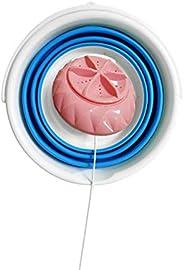 Mini machine à laver, laveuse à turbine à ultrasons pliable, machine à laver portable alimentée par USB, mini