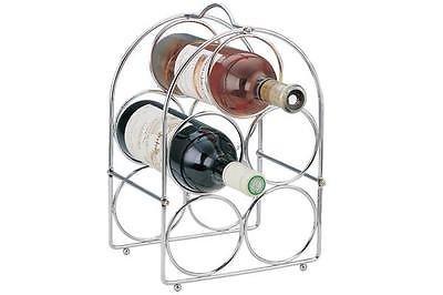 Chrom Weinregal (Generic A1. num. 6374. Cry. 1.. Weinregal Selbstmontage für E selbst ein Chrom Flasche E Rack Organizer Küche Le oder Wein Rack EN Mini Bar R.. NV _ 1001006374-wruk23)