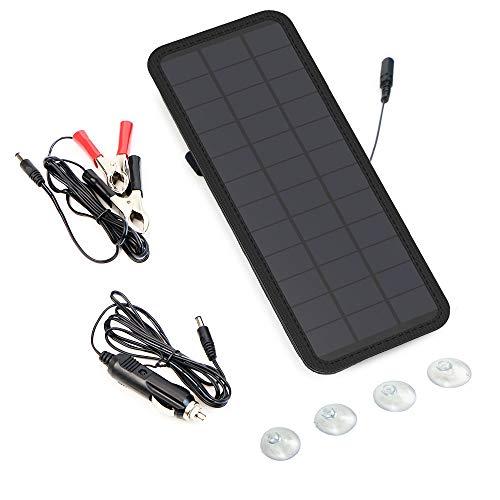 GIARIDE: El mejor cargador solar protable.  ¿Por qué elegir a GIARIDE Solar Car Battery Charger Maintainer?   GIARIDE 12V Solar Car Battery Charger es la solución perfecta para cargar las baterías de automóviles, motocicletas, automóviles, motos de n...