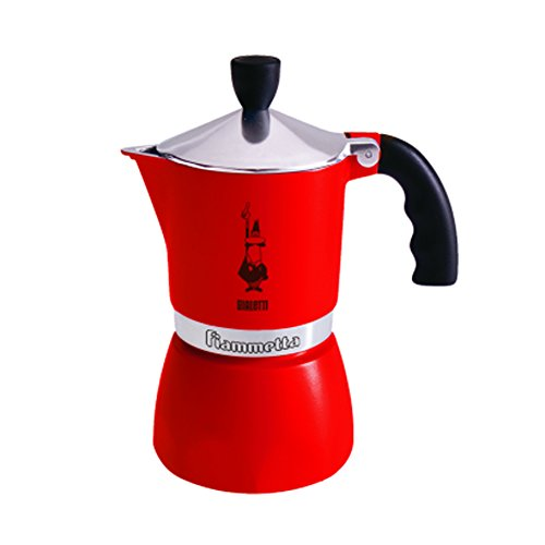 Caffettiera-Fiammetta-3Tz-Rossa