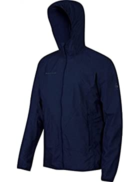 Mammut Crag WB Hooded Jacket Men (Softshell Jackets/Vests), Farbe:titanium melange;Größe:S