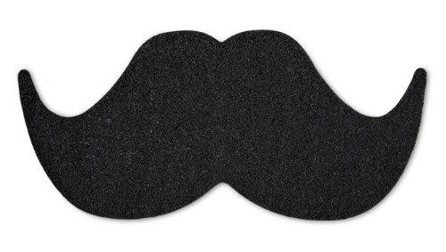 Mustard NG 5047 - Felpudo de entrada con diseño de bigote