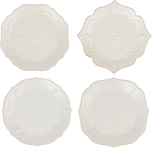 Lenox French Perle Assorted Plates, Set of 4 7.5
