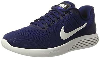e4441624c0b ... Nike Men s Lunarglide 8 Binary Blue Summit White Black Running Shoe 12.  5 Men US