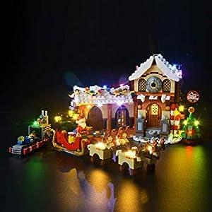 BRIKSMAX Kit di Illuminazione a LED per Lego La Bottega di Babbo Natale,Compatibile con Il Modello Lego 10245 Mattoncini… 0753318439917 LEGO