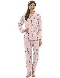 5441332a04 ... Vest Pink Orange PJ Set Size 8-18 · £9.99 - £16.54 Prime. Tom Franks  Ladies Penguin Print Winter Long Fleece Pyjama Pajama Sleepwear