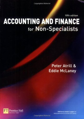 Accounting and Finance for Non-Specialists by Peter Atrill (2006-07-31)