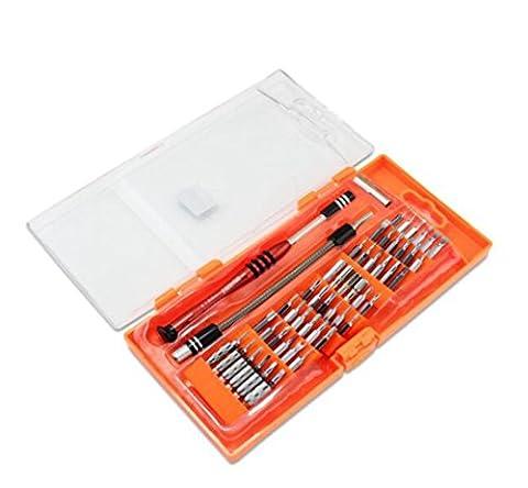 58en 1avec 54Bit magnétique Driver Kit Portable profond trou de vis de précision Jeu de tournevis