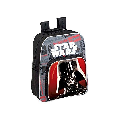 STAR WARS capacité de sac à dos 34 x 10 x 30 cm 35 cm enfants de sac à dos, multicolore