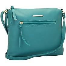 Lapis O Lupo Women's Sling Bag (Llsl0015Tq,Turquoise)