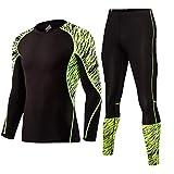 Z-Pertbil U Ensemble de Course à Pied pour Hommes Sportswear Entraînement Physique...