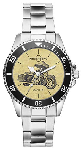 Regalo per Harley Davidson Street Glide Motocicletta Fan Autista Kiesenberg Orologio 20410