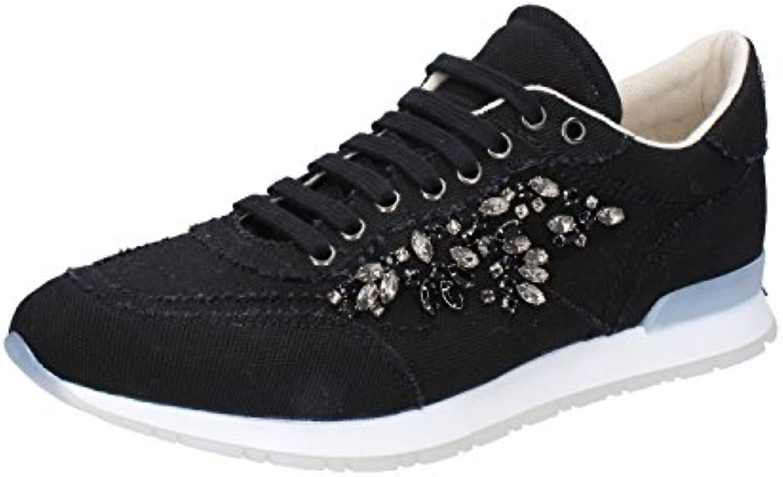 Twin-Set Sneakers Mujer 40 EU Negro Textil