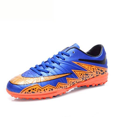 Men's Soccer Non Slip Football Shoes blue