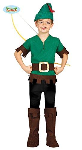 Bogenschütze - Kostüm für Kinder Gr. 110 - 146, - Green Arrow Kostüm Kinder