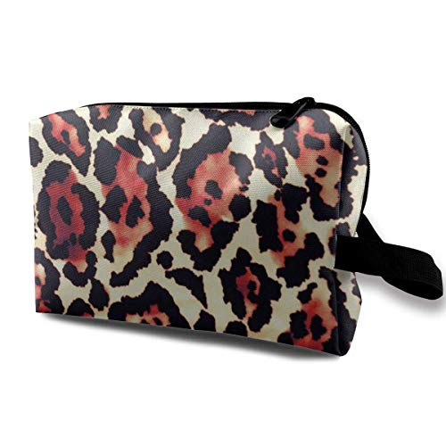 etiktaschen Batik Pattern Multi-Functional Toiletry Makeup Organizer black makeup bag ()