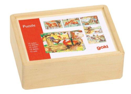 Imagen principal de Goki 57878  - Granja Puzzle Cubo