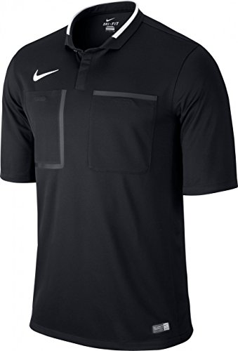 Nike T-shirt arbitre manches courtes Homme Black/Football