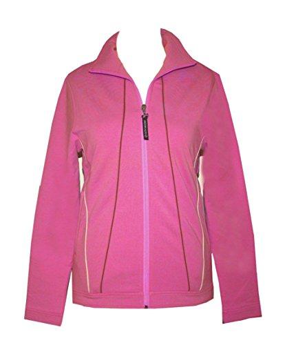 Crivit Damen Sweatjacke Trainingsjacke Fitnessjacke Sportjacke  Pink