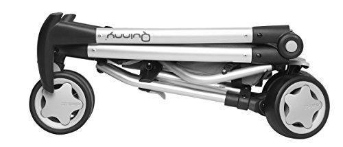 Quinny Zapp, Kinderwagen Buggy Kombiset mit Maxi-Cosi Babyschale erweiterbar, superleicht und kompakt, bis 15 kg, rocking black - 4