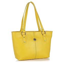Fostelo Women's Karen Shoulder Bag (Yellow) (FSB-428)