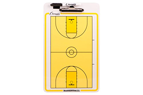 champion-dry-erase-2-sided-basketball-coach-coaches-coaching-board-with-marker