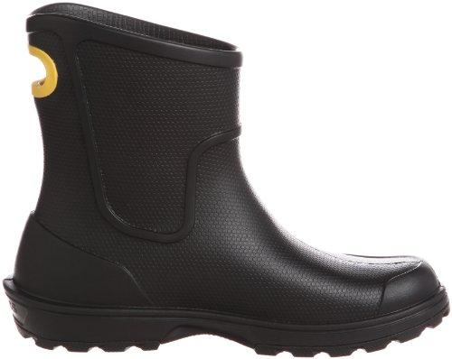 Crocs Wellie, Bottes de pluie homme Noir (Black)