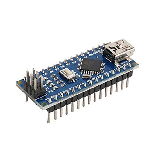 Preisvergleich Produktbild Kongqiabona Für Arduino Nano V3.0 mit für ATMEGA328P Modul Nano ATMEGA328P USB Mit dem Bootloader-kompatiblen Arduino V3.0 Controller