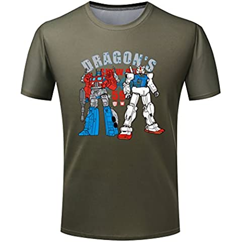 Transformers short sleeve Round-neck T-shirt For Mens